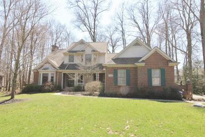 Westerville Single Family Home Contingent Finance And Inspect: 6580 Blackhawk Circle