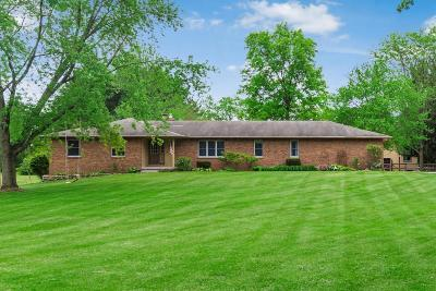 Hilliard Single Family Home For Sale: 3377 Cemetery Road