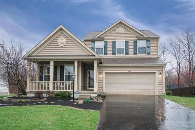 Blacklick Single Family Home Contingent Finance And Inspect: 7452 Old River Drive