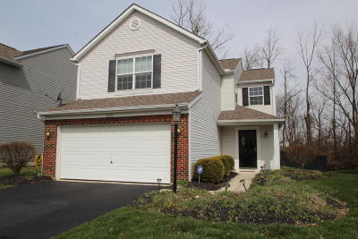 Blacklick Single Family Home Contingent Finance And Inspect: 7872 Birch Creek Drive
