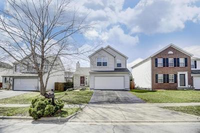 Canal Winchester Single Family Home Contingent Finance And Inspect: 3217 Timberstone Drive