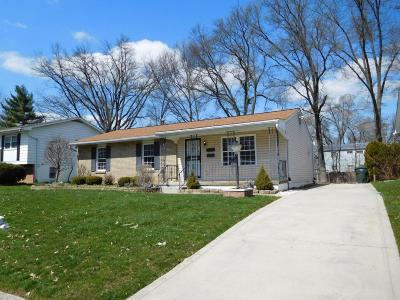 Reynoldsburg Single Family Home For Sale: 6580 Red Coach Lane