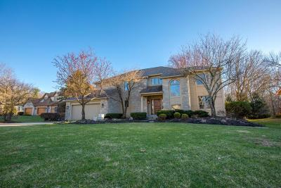 Reynoldsburg Single Family Home Contingent Finance And Inspect: 7801 Quarry Cliff Court