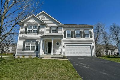 New Albany Single Family Home Contingent Finance And Inspect: 6430 Ellis Nook Drive