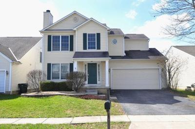 Canal Winchester Single Family Home Contingent Finance And Inspect: 5551 Winchester Meadows Drive