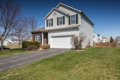 Reynoldsburg Single Family Home Contingent Finance And Inspect: 8532 Wildomar Avenue