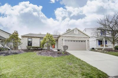 Dublin Single Family Home Contingent Finance And Inspect: 4095 Dunleavy Court