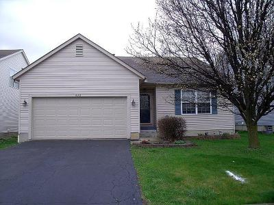 Blacklick Single Family Home For Sale: 442 Hannifin Drive
