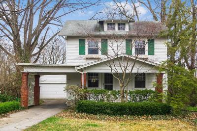 Columbus Single Family Home For Sale: 1080 Lincoln Road