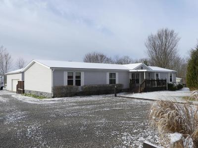 Centerburg Single Family Home Contingent Finance And Inspect: 3220 Johnstown Road