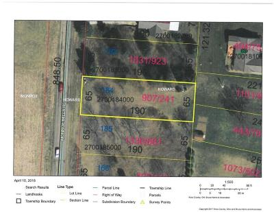 Mount Vernon Residential Lots & Land For Sale: Lot 184 Monroe Mills Road