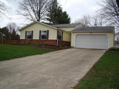 Pickerington Single Family Home Contingent Finance And Inspect: 9662 Merry Lane