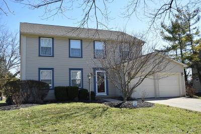 Dublin Single Family Home Contingent Finance And Inspect: 7232 Hopewell Street