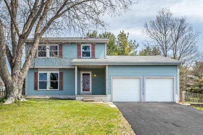Pickerington Single Family Home Contingent Finance And Inspect: 421 Oriole Court
