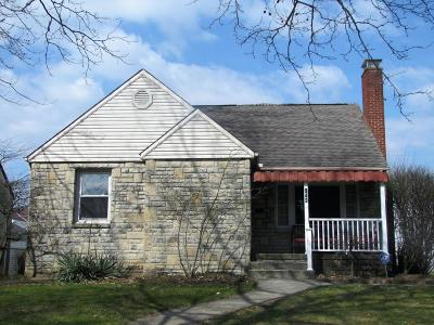 Bexley Single Family Home Contingent Finance And Inspect: 943 S Roosevelt Avenue