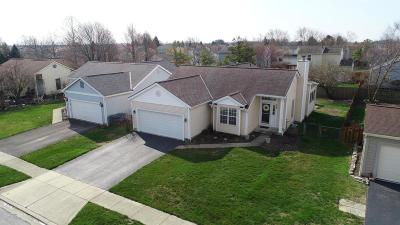 Hilliard Single Family Home Contingent Finance And Inspect: 4965 Silver Bow Drive