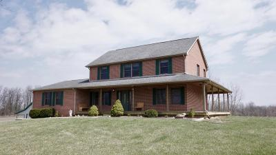Cardington Single Family Home Contingent Finance And Inspect: 2791 Township Road 20