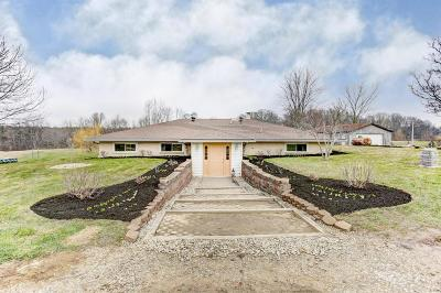 Centerburg Single Family Home Contingent Finance And Inspect: 8591 Bennington Chapel Road