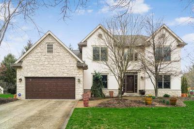 Dublin Single Family Home Contingent Finance And Inspect: 6314 Manteo Drive