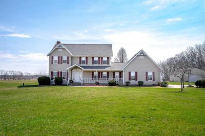 Stoutsville Single Family Home Contingent Finance And Inspect: 23780 Morris Leist Road