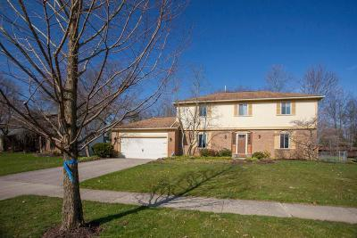 Westerville Single Family Home Contingent Finance And Inspect: 593 S Spring Road