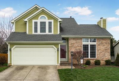 Westerville Single Family Home Contingent Finance And Inspect: 1127 Welwyn Drive