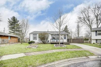 Westerville Single Family Home Contingent Finance And Inspect: 5865 Montevideo Road