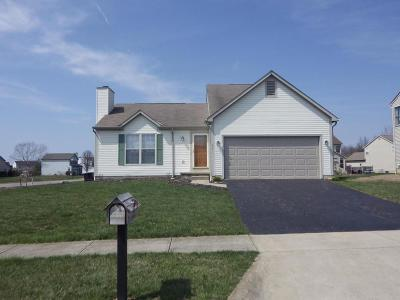 Reynoldsburg Single Family Home Contingent Finance And Inspect: 757 Petigrew Drive