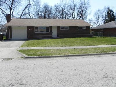 Reynoldsburg Single Family Home Contingent Finance And Inspect: 1472 Mariner Drive