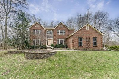 New Albany Single Family Home Contingent Finance And Inspect: 1393 Harrison Pond Drive