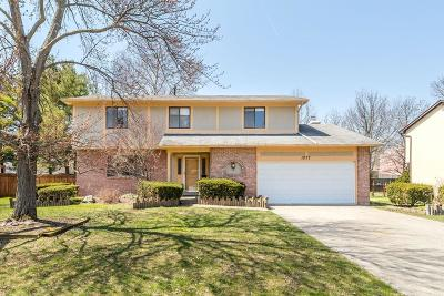 Reynoldsburg Single Family Home Contingent Finance And Inspect: 1077 Twilight Drive