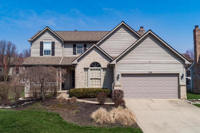 Westerville Single Family Home Contingent Finance And Inspect: 358 Wildwood Drive