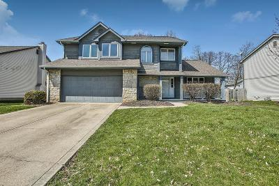 Reynoldsburg Single Family Home Contingent Finance And Inspect: 2109 Waitsfield Drive