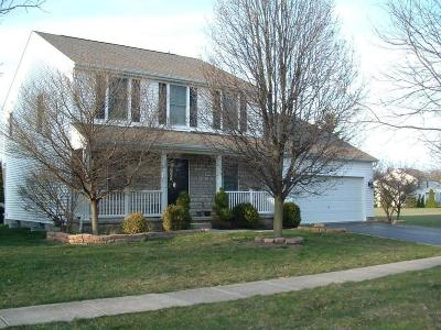 Westerville Single Family Home Contingent Finance And Inspect: 7079 Laver Lane