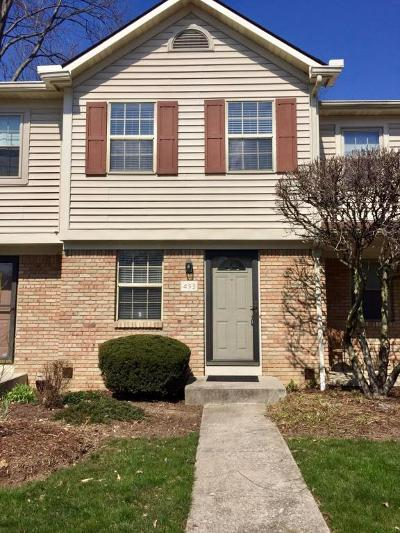 Westerville Condo For Sale: 493 Foxtrail Circle W