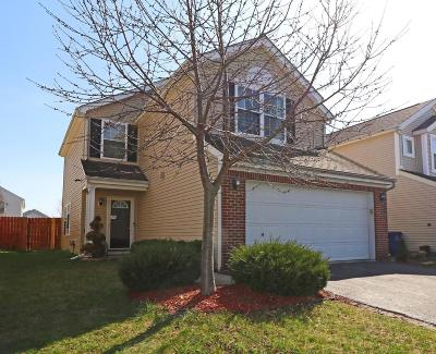 Canal Winchester Single Family Home Contingent Finance And Inspect: 6877 Manor Crest Lane