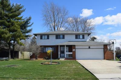 Pickerington Single Family Home Contingent Finance And Inspect: 280 Diley Road N