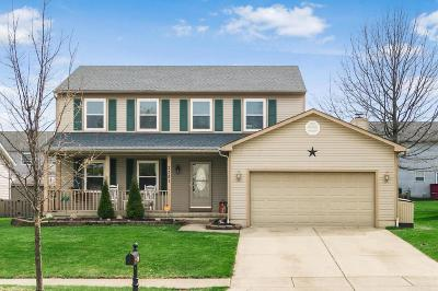 Grove City Single Family Home Contingent Finance And Inspect: 2381 Ziner Circle N