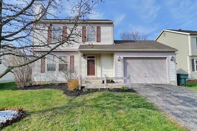Reynoldsburg Single Family Home Contingent Finance And Inspect: 6778 Bennell Drive
