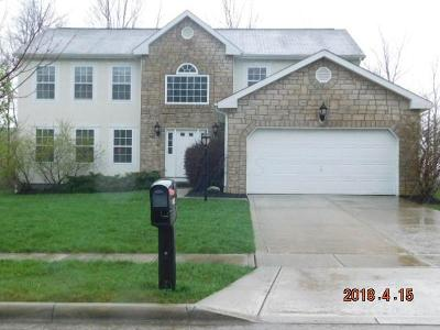 Reynoldsburg Single Family Home Contingent Finance And Inspect: 8031 Fenway Circle