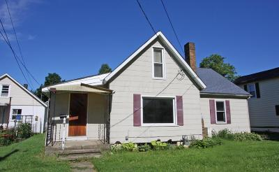 Mount Vernon OH Single Family Home For Sale: $49,900