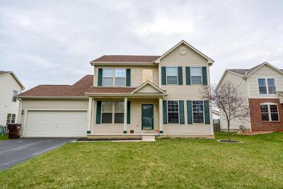 Reynoldsburg Single Family Home Contingent Finance And Inspect: 1110 Mastell Drive