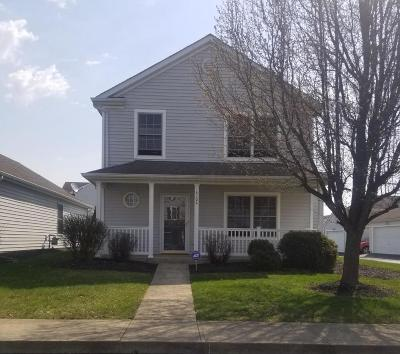 Canal Winchester Single Family Home Contingent Finance And Inspect: 4104 Fitzpatrick Boulevard