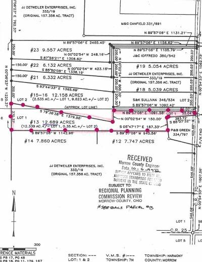 Marengo Residential Lots & Land Contingent Finance And Inspect: County Road 170