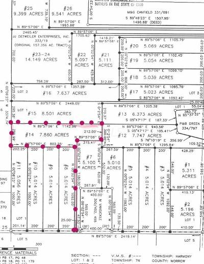 Marengo Residential Lots & Land Contingent Finance And Inspect: County Road 25