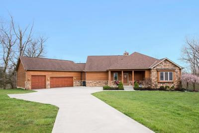 Reynoldsburg Single Family Home Contingent Finance And Inspect: 7649 Whitepine Ridge Court