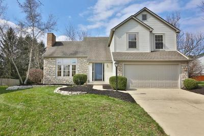 Hilliard Single Family Home For Sale: 4861 Roger Allen Court