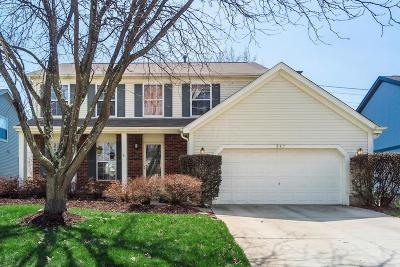 Gahanna Single Family Home Contingent Finance And Inspect: 547 Tall Oaks Drive