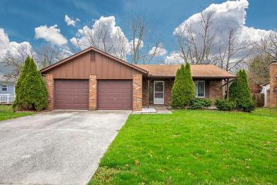 Reynoldsburg OH Single Family Home Contingent Finance And Inspect: $145,000