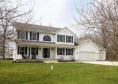 Milford Center Single Family Home Contingent Finance And Inspect: 22830 Buck Run Road